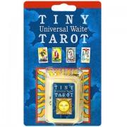 Tiny Universal Waite Tarot Key Chain