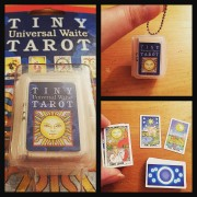 Tiny Universal Waite Tarot Key Chain 2