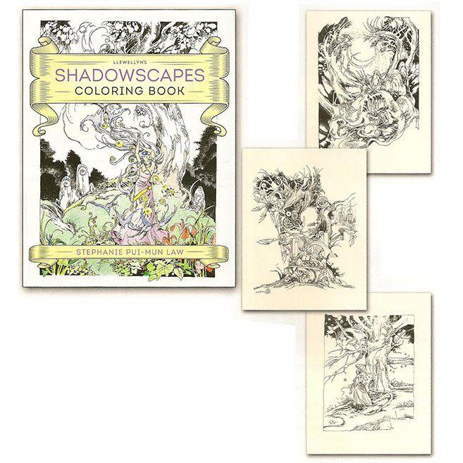 Sách tô màu Shadowscapes 3