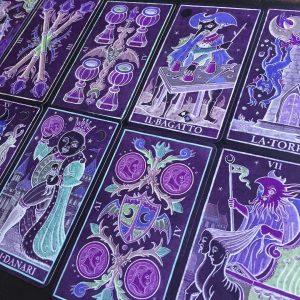 Trionfi della Luna Tarot Paradoxical Purple