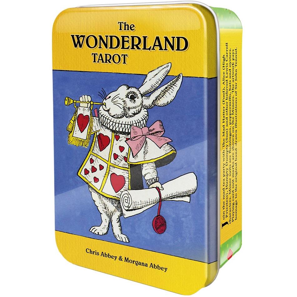 Wonderland Tarot in a Tin