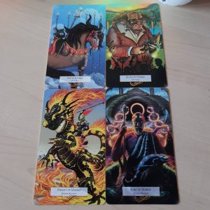 78 Tarot Mythical Tarot of the Legendary
