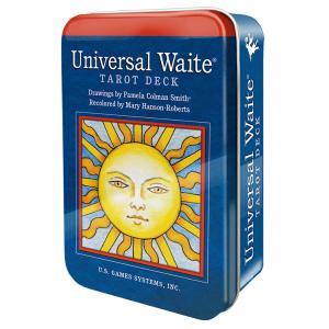 Universal Waite Tarot in Tin