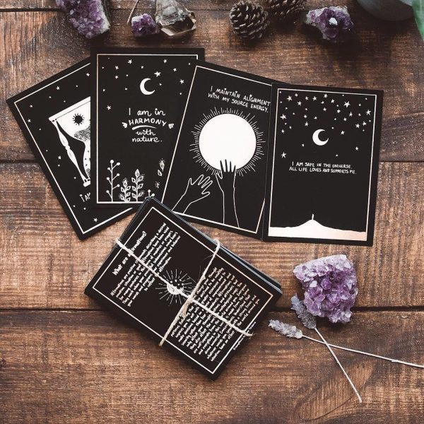 DreamyMoons Affirmation Card