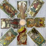 Golden Art Nouveau Tarot 2