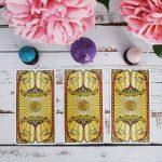 Golden Art Nouveau Tarot 7