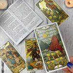 Golden Art Nouveau Tarot 8