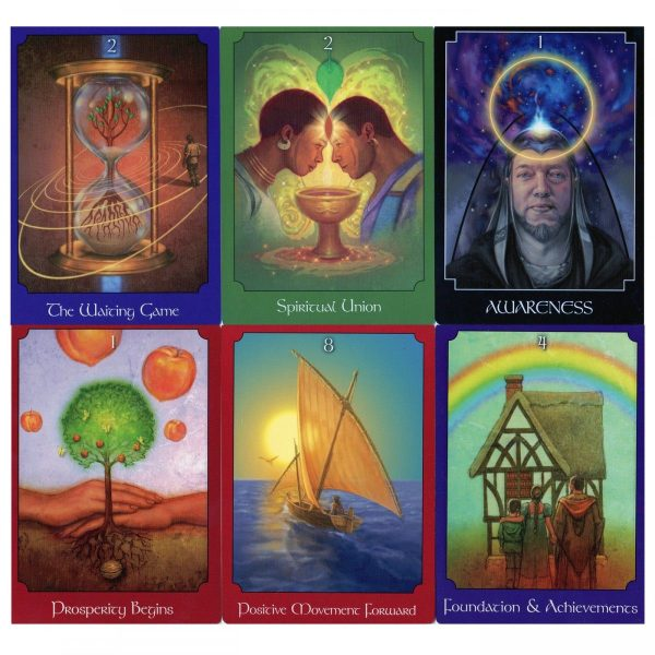 The Psychic Tarot for the Heart Oracle Card Deck