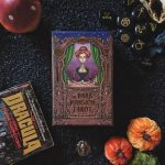 Dark Mansion Tarot 2nd Edition Black Edge Blue Reverse