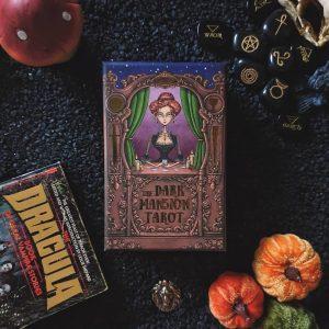 Dark Mansion Tarot 2nd Edition Black Edge Blue Reverse