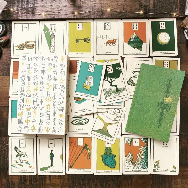 Green Glyphs Lenormand