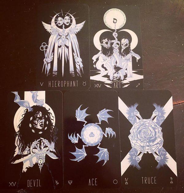 Wayward Dark Tarot Deck