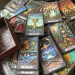 Dark Mansion Tarot 3rd Edition Black Blue 2