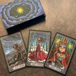 Dark Mansion Tarot 3rd Edition Black Blue 5