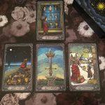 Dark Mansion Tarot 3rd Edition Black Blue 6