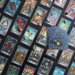 Dark Mansion Tarot 3rd Edition Black Blue 7