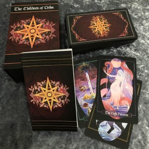 Children of Litha Tarot Black Edition