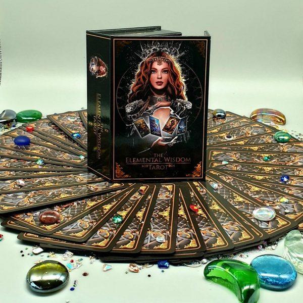 Combo Elemental Wisdom Tarot