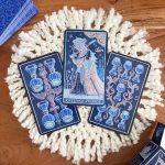 Trionfi della Luna Tarot Paradoxical Blue Deluxe 4