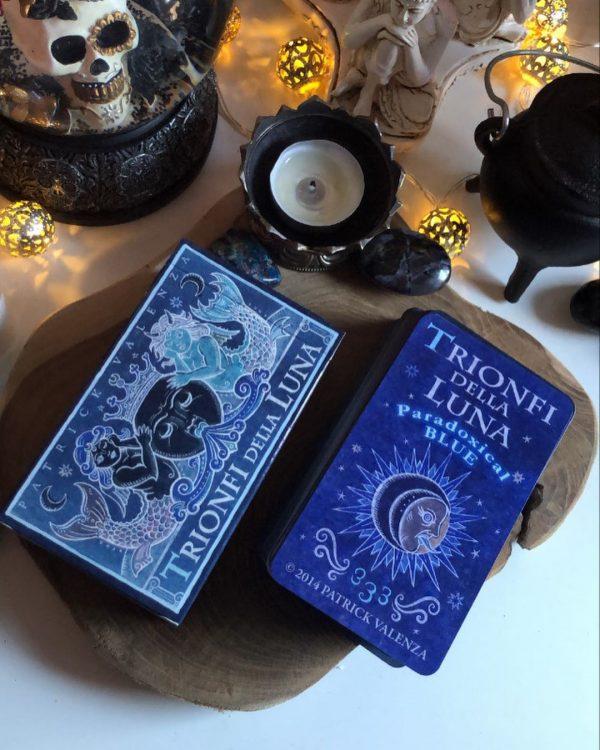Trionfi della Luna Tarot Paradoxical Blue Deluxe