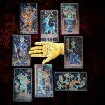 Trionfi della Luna Tarot Paradoxical Blue Deluxe 8