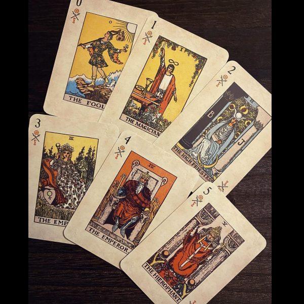 Rider Waite Playing Card Deck