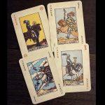 Rider Waite Playing Card 6
